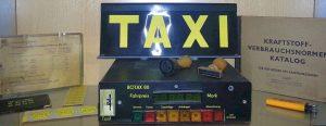 Archivbild Taxi Halle BOTAX 80