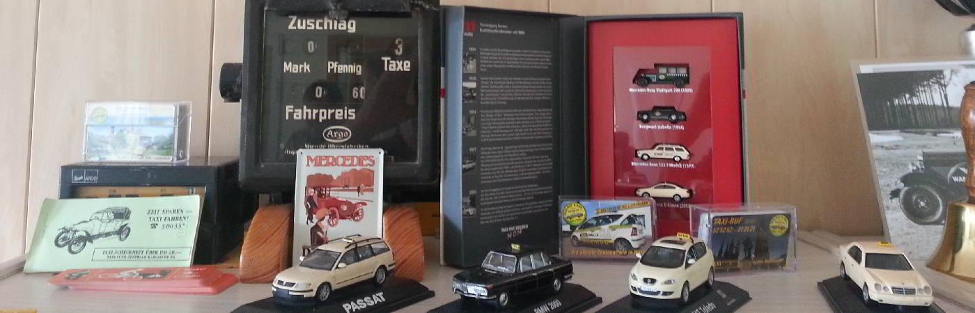 Autodroschken Taxi historische Modelle
